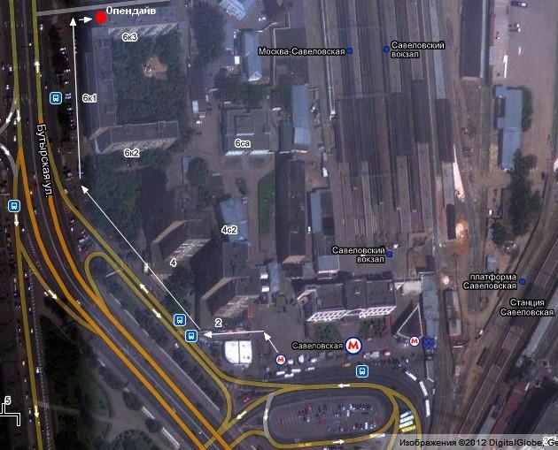 строение 3 Схема проезда .